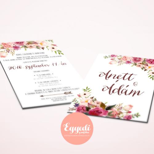 68bae2e0fa3 MUNKÁINK - Egyedi esküvői meghívó tervezés és készítés