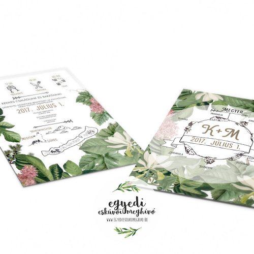 Zöld Archívum - Egyedi esküvői meghívó tervezés és készítés d8547647c7