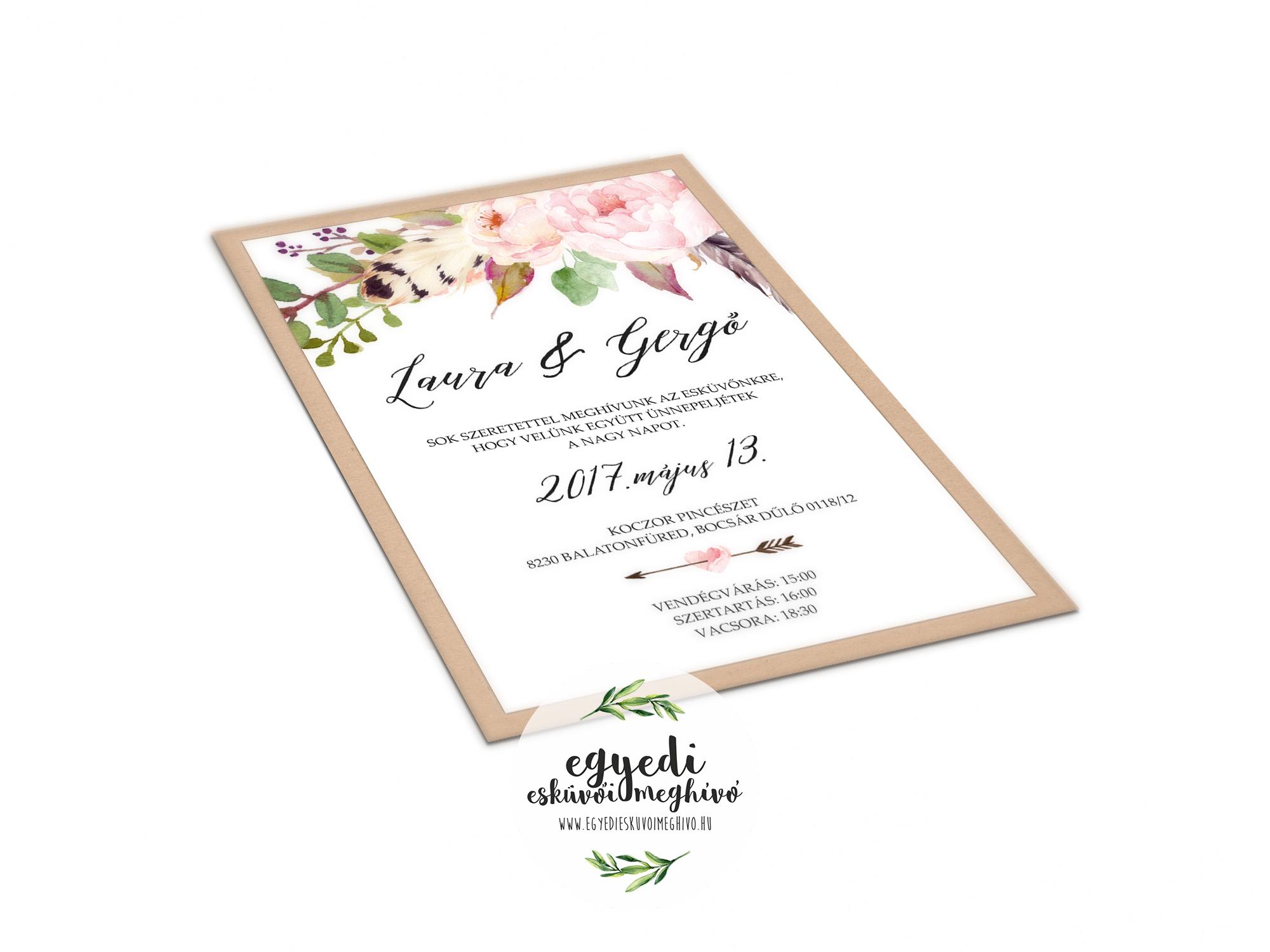 0cf12382d8 Főoldal - Egyedi esküvői meghívó tervezés és készítés